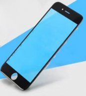 For Iphone 6 4.7' Front Glass Touch Screen Lens(High Quality) with Frame(High Quality)-Black
