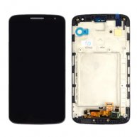 LCD Display + Touch Screen Digitizer Assembly with Frame Replacement for LG G2 Mini / D620 / D618(Black)