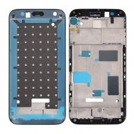 For Huawei G8 Front Housing LCD Frame Bezel Plate(Black)