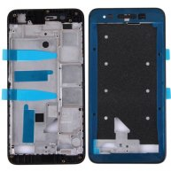 For Huawei Enjoy 5s Front Housing LCD Frame Bezel Plate(Black)