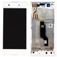 For Sony Xperia XA1 LCD Screen + Touch Screen Digitizer Assembly with Frame-White