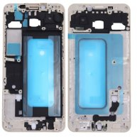 For Samsung Galaxy C5 / C5000 Front Housing LCD Frame Bezel Plate(Gold)