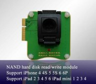 Multi-Function NAND Flash Programmer 32/64 Bit Hard Disk NAND Read Write Module For iPhone iPad Repair(Use For JC Pro1000S )