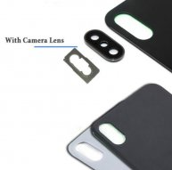 Back Cover Glass with Camera Lens for iphone X
