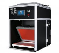 "15"" OM-K7 Big airbag LCD scree lamination machine"