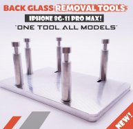 BACK GLASS REMOVAL TOOLS iPhone 8-11 Pro Max one tool all models