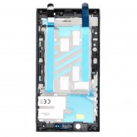 For Sony Xperia L2 Middle Frame Front Housing - Black