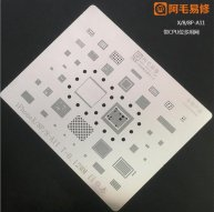 Amaoe CPU BGA Stencil For Iphone X/8/8 Plus -A11 T:0.12mm