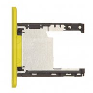 For Nokia Lumia 720 SIM Card Tray Holder Replacement-Yellow