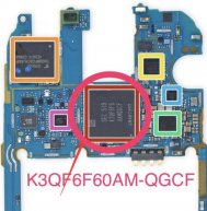 K3QF6F60AM-QGCF IC Chip For LG G4