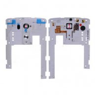 Backplate Rear Housing with Camera Lens and Power & Volume Buttons for LG G3 D850/ D851/ D855/ VS985/ LS990/ US990/ F400 - White