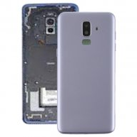 Back Cover with Side Keys & Camera Lens for Galaxy J8 (2018) / J800F(Grey)