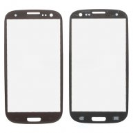 OEM Front Glass Outer Screen Lens for AT&T Samsung Galaxy S III SGH-I747 - Brown