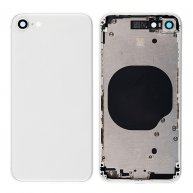 Middle Frame with Battery Door Cover for iPhone 8 White