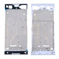 For Sony Xperia XA1 Front Housing LCD Frame Bezel Plate(White)