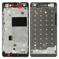 Front Housing LCD Frame Bezel Plate Replacement for Huawei P8 Lite(Black)
