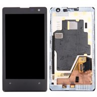 LCD Display + Touch Screen Digitizer Assembly with Frame Replacement for Nokia Lumia 1020(Black)