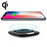 TOTUDESIGN 5V/2A 9V/1.67A Input Qi Quick Charing Wireless Charger with LED Indicator