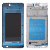 For Huawei Honor V9 Play Front Housing LCD Frame Bezel Plate(White)