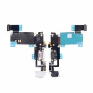 The Best Quality Charging Port with Flex Cable, Earphone Jack and Mic for iPhone 6S Plus(5.5 inches) - White(OR)
