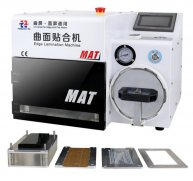 MAT Edge Laminating OCA Vacuum Laminating Bubble Remover LCD Screen Refurbish Machine for Samsung iPhone(No Include Edge Molds)