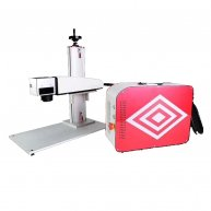 Laser source Super laser Red 20W split type mini fiber laser marking machine