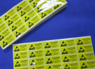 Anti-Static Warning Labels 2.5*5.5cm -100 pcs