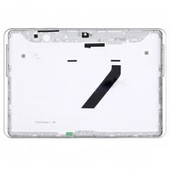 For samsung Galaxy Tab 2 10.1 P5100 Back Cover with Side Keys-White