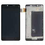 Front LCD Display Touch Screen Glass Digitizer Assembly with Frame For Nokia Lumia 950