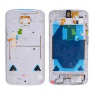 Back Cover Rear Housing with Bezel Middle Frame and Headphone Jack for Motorola Moto X+1 X2 XT1095/ XT1096/ XT1097 - White