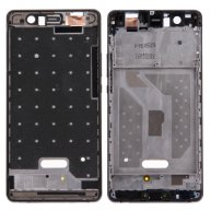 For Huawei P9 Lite Front Housing LCD Frame Bezel Plate(Black)