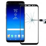 For Samsung Galaxy S9+ 0.3mm 9H Surface Hardness 3D Full Screen Tempered Glass Screen Film(Black)