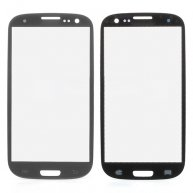 Front Outer Glass Screen Lens for Verizon Samsung Galaxy S III SCH-I535 - Grey