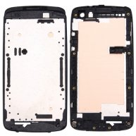 For HTC Desire 500 Front Housing LCD Frame Bezel Plate(Black)