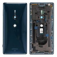 For Sony Xperia XZ2 Back Cover with Middle Frame - Deep Green