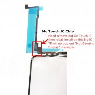 NO TOUCH IC TP Digitizer For Iphone 11 Pro Touch Screen