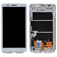 LCD Screen and Digitizer Assembly for Motorola Droid Ultra XT1080 with Frame - White