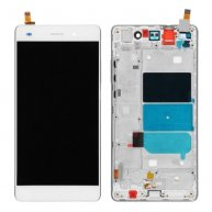 COMPLETE SCREEN ASSEMBLY WITH BEZEL FOR HUAWEI P8 LITE -WHITE