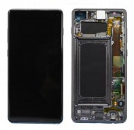 For Samsung Galaxy S10+ Ori LCD Screen and Digitizer Full Assembly with Frame