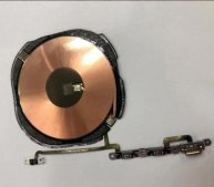 Wireless Charging Charge Coil NFC Chip Welded With Volume Flex Cable For iPhone XS