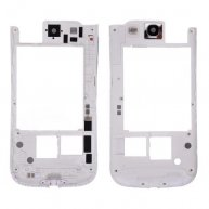 Backplate Rear Housing with Camera Lens for Samsung Galaxy SIII i747-White