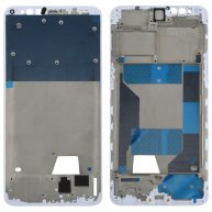For OPPO R11s Front Housing LCD Frame Bezel Plate (White)