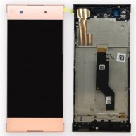 For Sony Xperia XA1 LCD Screen + Touch Screen Digitizer Assembly with Framei-Pink