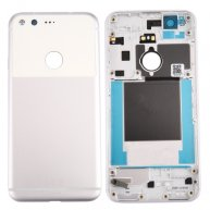For Google Pixel / Nexus S1 Battery Back Cover(Silver)