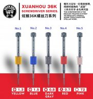 XUANHOU 36K Multi-function disassemble opening tool for Apple mobile phone repair screwdriver tool with magnetic force