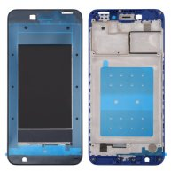For Huawei Honor V9 Play Front Housing LCD Frame Bezel Plate(Blue)