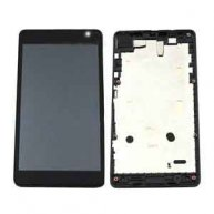 COMPLETE SCREEN ASSEMBLY WITH BEZEL FOR MICROSOFT LUMIA 535 DUAL SIM -2S VERSION