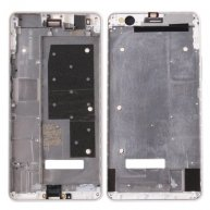 For Huawei Honor 6 Plus Front Housing LCD Frame Bezel(White)