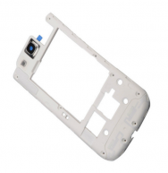 For Samsung Galaxy S3 lll I535 White Back Plate Frame Rear Housing