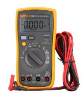 Fluke 18B F18B AC DC Voltage Current Digital Multimeter DMM with LED Tester